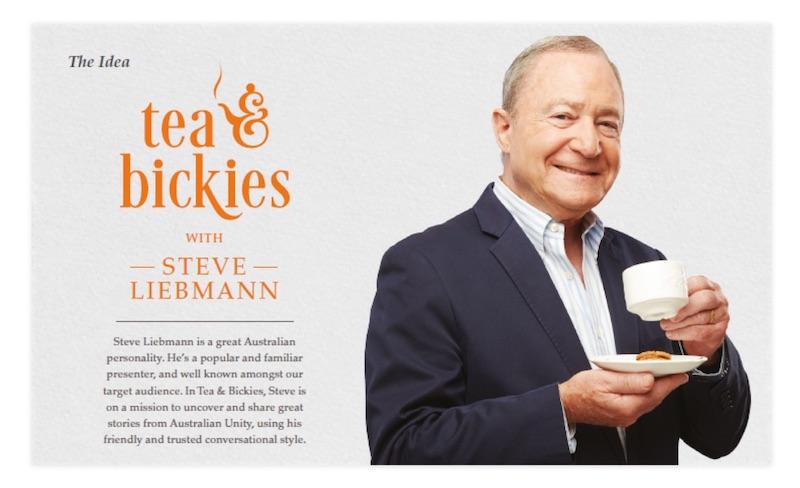 """Tea & Bickies"" with Steve Liebmann"